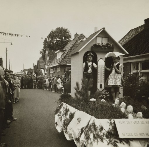 Dorpsfeest 1960  - Feestwein