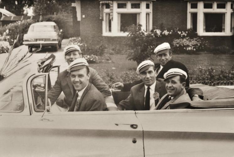 Oranjevereniging - bestuur 1966