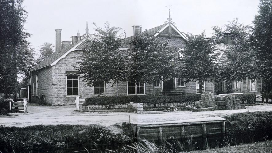 Eendrachtsweg - Zuivelfabriek ca.1910