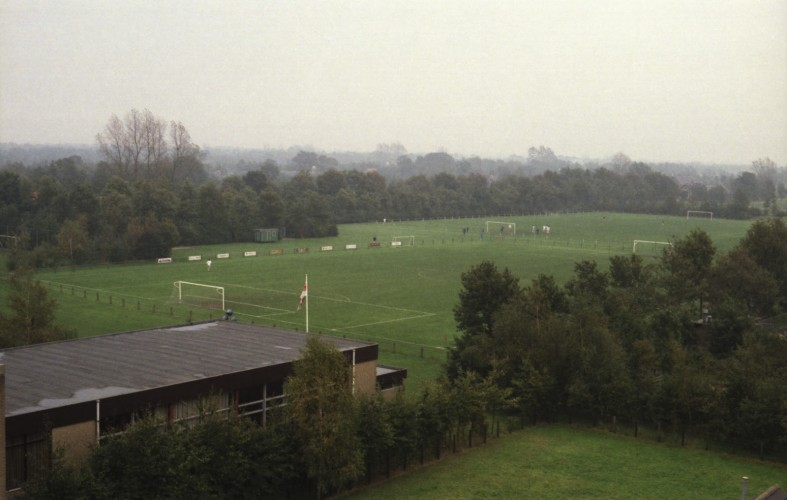 Luchtfoto 1984 - sportvelden