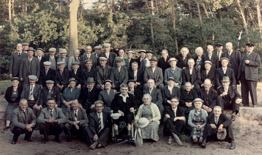 Bejaardenreisje omstreeks 1960