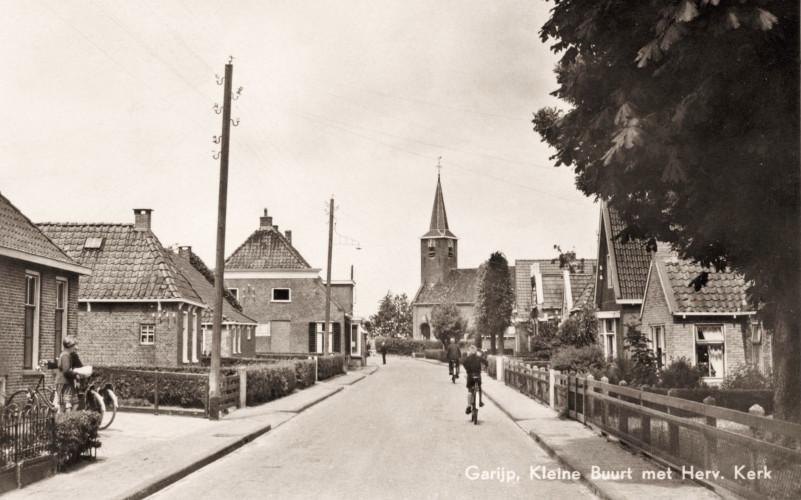 Lytse Buorren - Kleine Buurt met Herv.Kerk