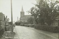 Lytse Buorren - Herv.Kerk en oldtimer