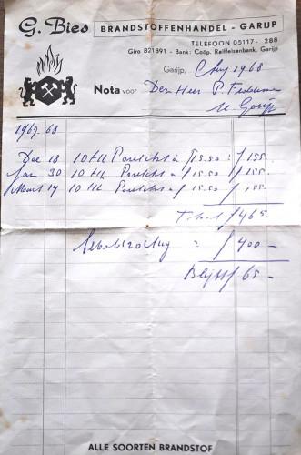 Oude nota's